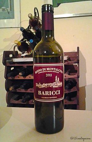 Baricci Bottiglia Rosso di Montalcino