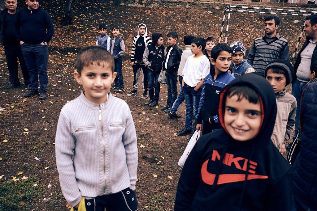 Bambini Choratan Centro giovanile Mechitarista